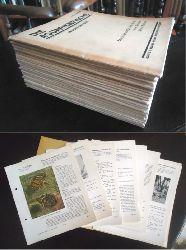 Holly, Max / Meinken, Hermann / Rachow, Arthur (Bearb.) [HMR]  Die Aquarienfische in Wort und Bild. Lieferung 3-6, 11-48, 50-56. (Loseblattsammlung).