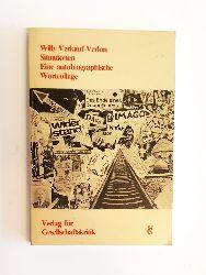 Verkauf-Verlon, Willy  Eine autobiographische Wortcollage. Mit einem Nachwort von Konstantin Kaiser.