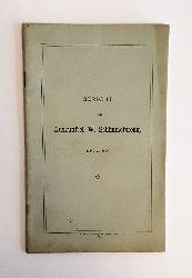 Bericht der Auskunftei W. Schimmelpfeng. Januar 1900.