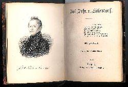 Joseph Freiherr von Eichendorff. Mit Portrait. Fünfte, neu bearbeitete Auflage.