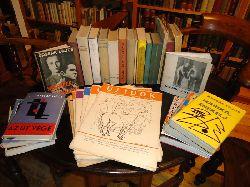 Kassak, Lajos  Sammlung Lajos Kassak. 22 Bücher und 11 Zeitungen (Uj Idök 1945).