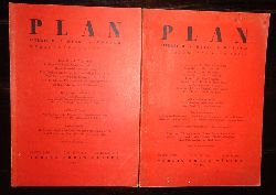 Basil, Otto  PLAN. Literatur / Kunst / Kultur. 2 Nummern des 1. Jahrganges (1946), Heft 6 und 8.