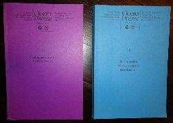 Zenner, Timm A.  Cicero Presse. 2 Kataloge (Bd. 11: Catalogues raisonnes. Referenzwerke. Bd. 14: Bibliographien. Werkverzeichnisse. Enzyklopädien).