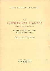 Arista, Giovanni Battista  La Costituzione italiana. Saggio bibliografico.