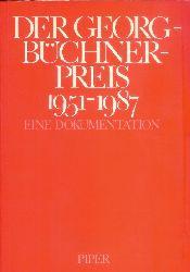 Georg-Büchner-Preis - Assmann, Michael (Hg.)  Der Georg-Büchner-Preis 1951-1987. Eine Dokumentation.