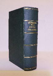 Tozzetti, Ottaviano Targioni  Antologia della Prosa Italiana. Compilata e annotata. Ottava ristampa.