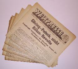 Weltpresse. Herausgegeben vom britischen Weltnachrichtendienst.  6 Hefte des 2. Jahrganges 1946.