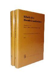 Christoph, Horst-Joachim (Hg.)  Klinik der Hundekrankheiten. Komplett in 2 Bänden.
