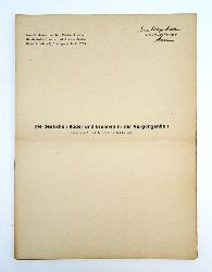 Martin, Alfred (Arzt in Bad-Nauheim)  Die deutschen Bäder und Brunnen in der Vergangenheit. Vom Verfasser signierter und überreichter Sonderdruck.