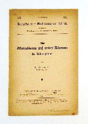 Aschoff, L.  Über Atherosklerose und andere Sklerosen des Gefässsystems.