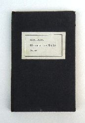 Bisanz, Hans  Himmelbett des Windes. Gedichte
