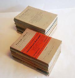 Adamovich, Ludwig / Breitner, Burghardt / Dempf, Alois / Fischl, Johann / March, Arthur  Wissenschaft und Weltbild. 51 Hefte der Jahrgänge 1948 bis 1955.