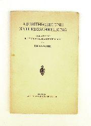 Bohr, Niels  Atomtheorie und Naturbeschreibung. Vier Aufsätze mit einer einleitenden Übersicht.