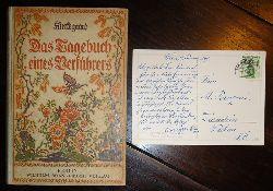 EGGER LIENZ, LAURA / Kierkegaard Sören  Autograph - Das Tagebuch eines Verführers. Deutscher Text und Nachwort von Horst Broichstetten.