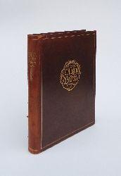 Bayros, Franz von (Exlibris) / Busch, Wilhelm  GANZLEDERAUSGABE - Wilhelm-Busch-Album. Humoristischer Hausschatz mit 1500 Bildern von Wilhelm Busch. 161. und 162. Tausend.
