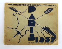 EXPOSITION INTERNATIONALE ARTS ET TECHNIQUES PARIS 1937.  Les plus belles vues de l