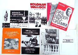 Antifaschismus -  Konvolut in 10 Teilen.