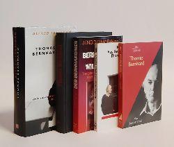 Bernhard, Thomas -  5 Bände Konvolut Sekundärliteratur zu Thomas Bernhard.