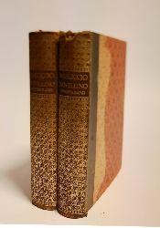 Unold, Max (Holzschnitte) / Masuccio von Salerno  Der Novellino des Masuccio von Salerno. Komplett in 2 Bänden. Zum erstenmal vollständig ins Deutsche übertragen von Hanns Floerke.