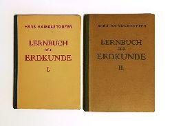 Kaindlstorfer, Hans  Lernbuch der Erdkunde für Mittelschulen. I. und II. 2 Bände.