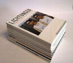 Jaroschka, Markus (Hg.)  LICHTUNGEN. Zeitschift für Literatur, Kunst und Zeitkritik. 16 Hefte aus 1994 - 2004.