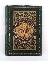 Hafis / Bodenstedt, Friedrich (Übersetzung)  Der Sänger von Schiras. Hafisische Lieder verdeutscht durch Friedrich Bodenstedt.