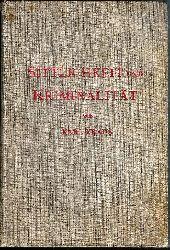 Kraus, Karl  Sittlichkeit und Kriminalität. 2. Aufl.