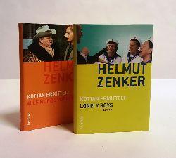 Zenker, Helmut  2 Bände KOTTAN ERMITTELT - 1. Alle Morde vorbehalten. Roman. 2. Lonely Boys. Roman.