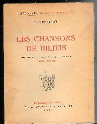Louys, Pierre  Les Chansons de Bilitis.