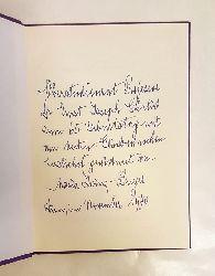 Zwinz-Breyer, Maria  Widmungsexemplar - Diesseits und Jenseits. Sonette. Band I.