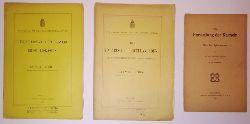 Porzellanherstellung Konvolut -  3 Broschuren.