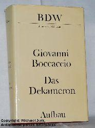 Boccaccio, Giovanni di:  Das Dekameron. Bibliothek der Weltliteratur BDW.