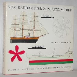 Baker, W. A.:  Vom Raddampfer zum Atomschiff. Geschichte der maschinengetriebenen Schiffe.