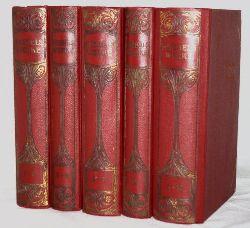 Hebbel, Christian Friedrich:  Hebbels Werke in zehn Teilen. (In fünf Bänden.) Herausgegeben mit Einleitungen und Anmerkungen versehen von Theodor Poppe.