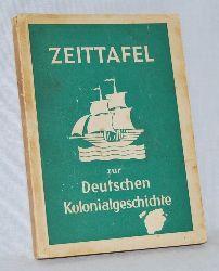 Kienitz, Ernst (Bearbeiter):  Zeittafel zur deutschen Kolonialgeschichte. Mit 8 Karten und 13 Dokumenten.
