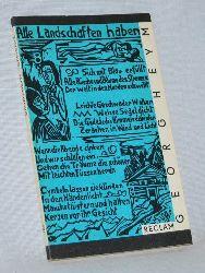 Heym, Georg:  Gedichte. Reclams Universal - Bibliothek Band 225. Reihe: Belletristik.