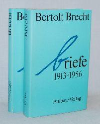 Brecht, Bertolt:  Briefe 1913 - 1956. Band I: Texte. Band II: Anmerkungen.