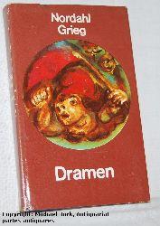 Grieg, Nordahl:  Dramen. Ausgewählte Werke in Einzelausgaben. Herausgegeben von Horst Bien.