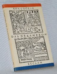 Boccaccio, Giovanni di:  Das Dekameron. Auswahl. Reclams Universal - Bibliothek Band 308. Reihe: Belletristik.