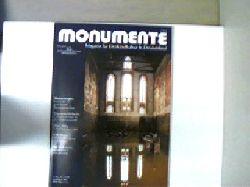 Autorenkollektiv: Monumente - Nr. 11/12, Dezember 2002 (12. Jahrgang), Magazin für Denkmalkultur in Deutschland, schönes Exemplar,