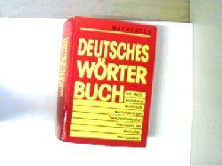 Mackensen, Lutz: Deutsches Wörterbuch, Rechtschreibung, Grammatik, Worterklärungen, Fremdwörterlexikon, Geschichte des deutschen Wortschatzes, das Buch ist etwas verzogen, der Buchschnitt ist nur etwas angeschmutzt, ansonsten gutes Exemplar,