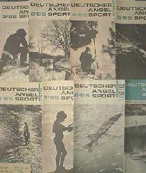 Autorenkollektiv: Zeitschrift: Deutscher Angelsport - 1989, Hefte: 2+3+5+6+11, Ausgaben: Februar / März / Mai / Juni / November, je Heft für 4,99 Euro, Deckel nur etwas abgenutzt, ansonsten altersentsprechend gutes Exemplar,