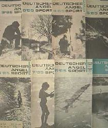 Autorenkollektiv: Deutscher Angelsport, August 1988, 40. Jahrgang, Heft 8, Heft: August 1988, altersentsprechend gutes Exemplar,