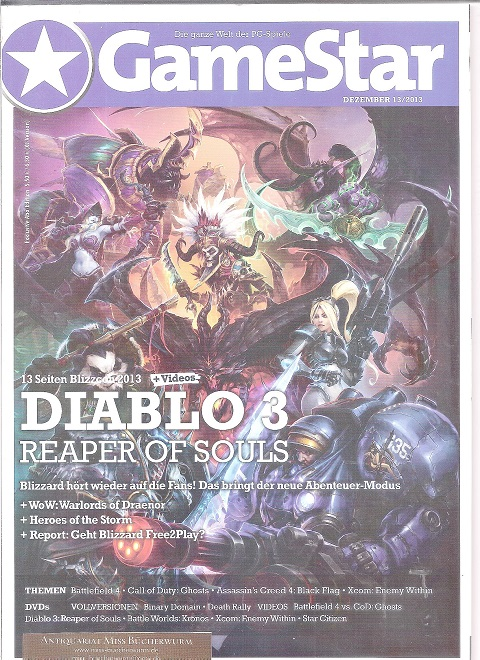 GameStar mit DVD Ausgabe 12/2013