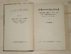 Weismantel, Leo:  Schattenspielbuch. Schattenspiele des weltlichen und geistlichen Jahres und Anleitung zur Herstellung einer Schattenspielbühne und zum Schattenspiel.