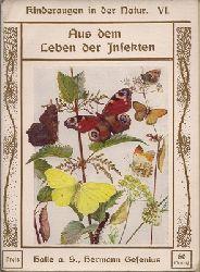Buckley, Arabella B. (Mrs. Fisher)  Aus dem Leben der Insekten - Kinderaugen in der Natur - 6. Sechstes Buch