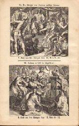 Carolsfeld, Schnorr von  192 Bilder zur heiligen Schrift. Alten und Neuen Testaments. mit Angabe der betreffenden Bibelstellen in zwei Verzeichnissen.  Nach Schnorr von Carolsfeld