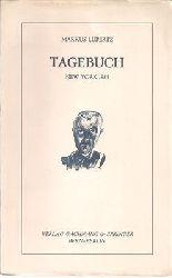 Lüpertz, Markus  Tagebuch - New York 1984
