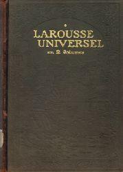 Auge, Claude  Larousse Universel en 2 Volumes - Nouveau Dictionnaire Encyclopedique [komplett - 2 Bände]