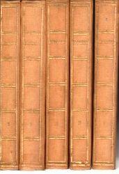 Boccaccio, Giovanni di / Krell, Max (Hrsg.)  Rösl-Klassiker - Giovanni di Boccacio - Gesammelte Werke in 5 Bänden